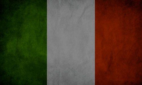 DTLA Print italy flag vintage