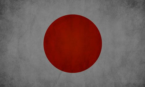 DTLA Print japan flag vintage