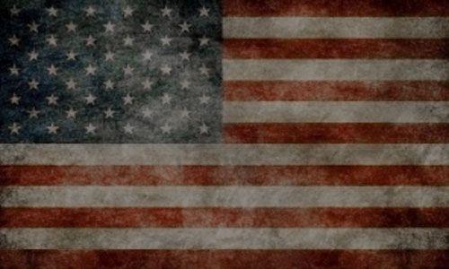 DTLA Print vintage american flag